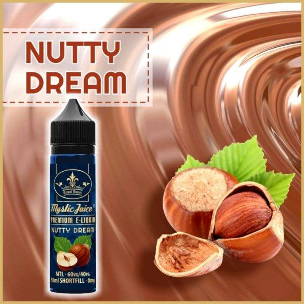 Bilde av Mystic Juice Nutty Dream, Ejuice 50/60ml
