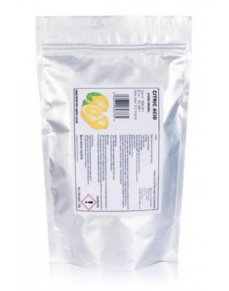 Bilde av Citric Acid, Sitronsyre 20 gram